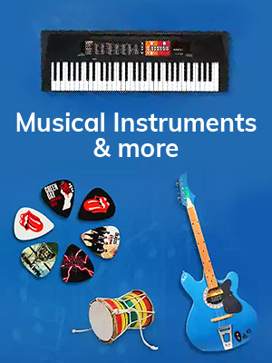 Musical Instruments & More