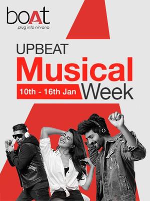 Unbeat boAt Musical Week