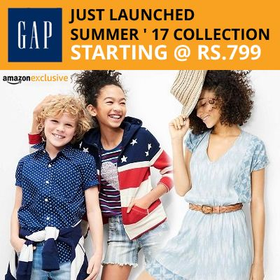 GAP Brand Offers Starts @ Rs.799