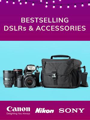 Best Selling DSLRs & Accessories