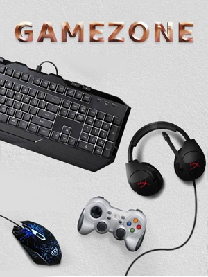 Gaming Accessories at the Gamezone