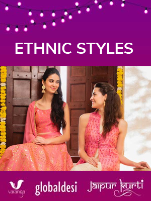 This Diwali 50-70% Off On Ethnic Styles