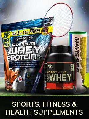 Sport, Fitness & Health Supplements