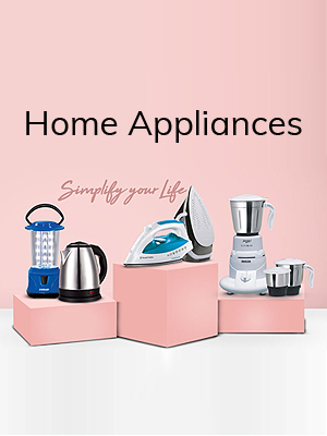 Home Appliances Starting at Rs.99