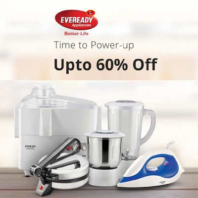 Upto 60% Off On EveryReady Appliances