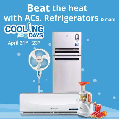 Great Offers On Cooling Days