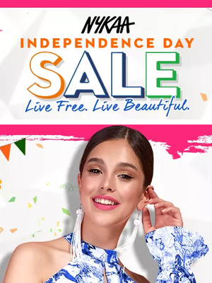 Nykaa Independence Day Sale
