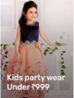 Kids Party Wear Under Rs.999
