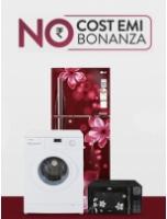 No Cost EMI Bonanza: Tvs & Appliances