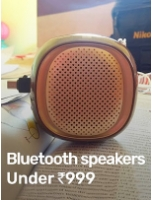 Bluetooth Speakers Under Rs.999