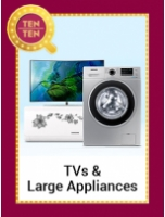 The Ten-Ten Sale: Tvs & Appliances