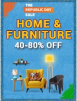 The Republic Day Sale: Home & Furniture