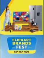 Flipkart Brands Fest 14th-15th Nov