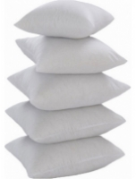 Polyester 16 x 16 inch Cushion Insert - Set of 5