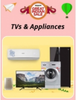 Amazon Great Indian Sale : TVs & Appliances