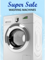 Super Sale: Washing Machine