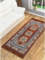 Ethnic Motif Jute 5 x 3 feet Machine Made Carpet By Azaani