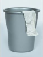All Time Frosty 5.5 Ltr Silver Dust Bin