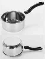 Sumeet Stainless Steel Induction Friendly Cooking Pot , 800 ML
