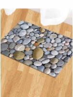 Multicolour Nylon 15 x 23 Inch Door Mat by Status