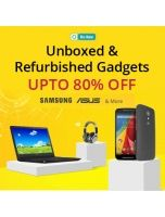 Upto 80% Off ,Unboxed & Refurbished Gadgets