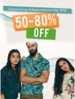 Celebrating Independence Day with 50-80% Off