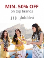 Min. 50% Off On Women Clothing's