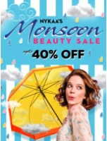Nykaa's Mansoon Beauty Sale