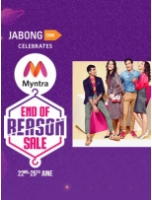 Upto 80% OFF: Jabong's End of Reason Sale