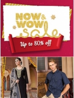 NoW WoW Fashion Sale: Up To 80% Off