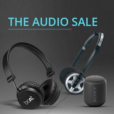 Upto 60% Off on Audio Sale